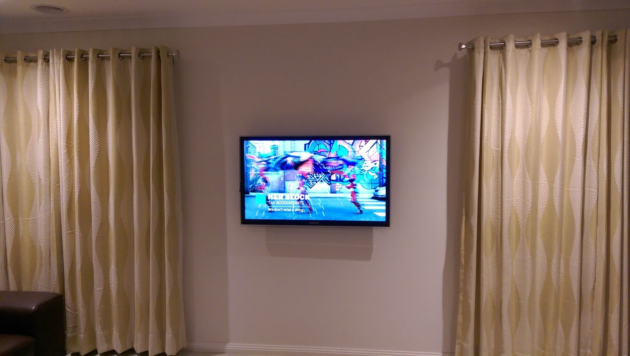 How High To Mount Tv On Wall In Bedroom How To Choose The Right Height For Your Tv Antennify