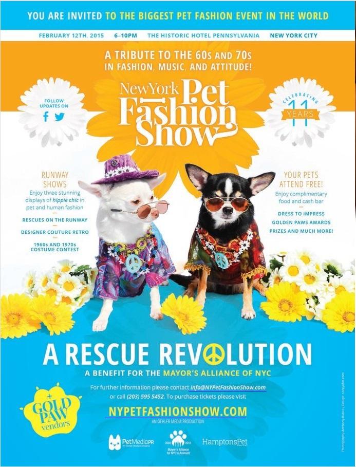 The 2015 New York Pet Fashion Show Anthony Rubio Designs - Dog Fashion