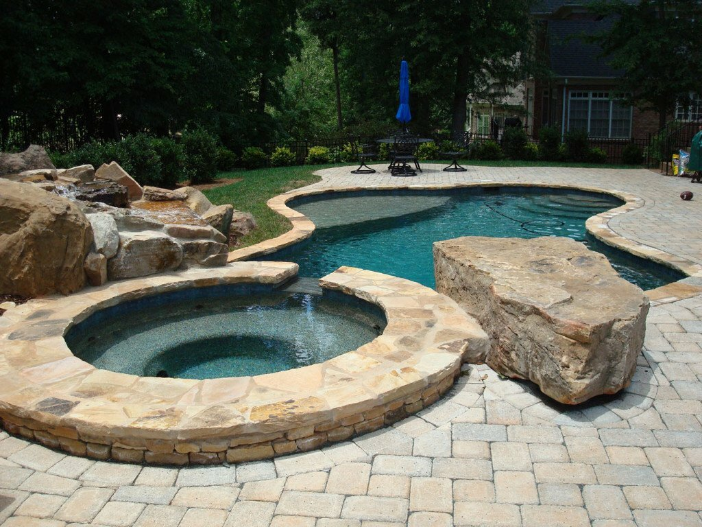 Gfk Pool Formen Pool Coping And Decking Options Anthony And Sylvan Inground