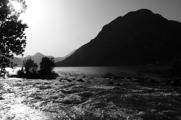 black & white, kotor, montenegro