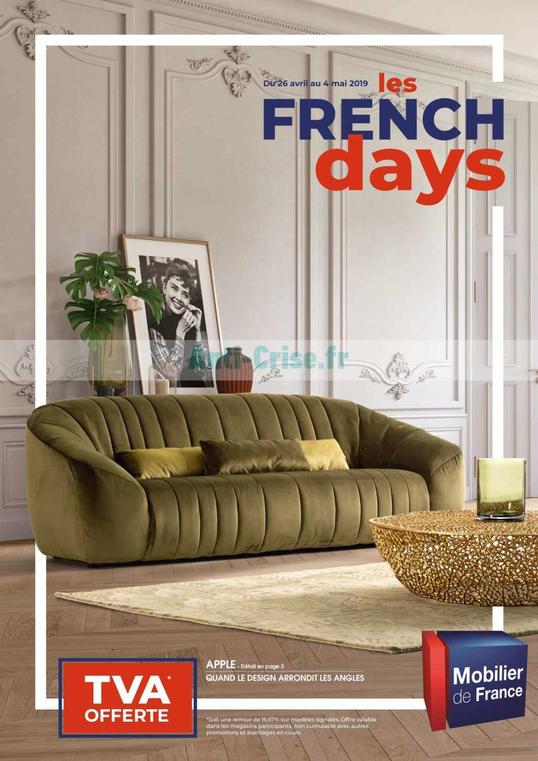 Mobilier De France Catalogue Catalogue Mobilier De France Du 26 Avril Au 04 Mai 2019