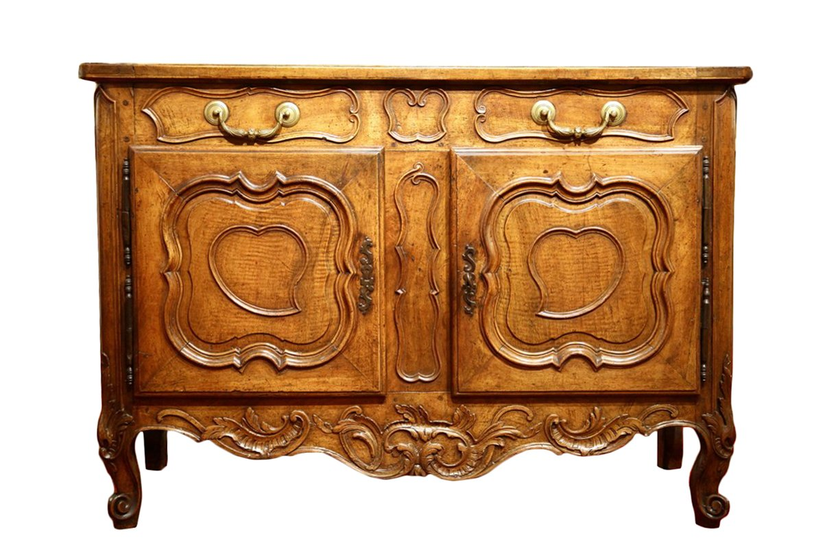 Credence Decorative French 18thc Louis Xv Credence Buffet Sideboard From Provence