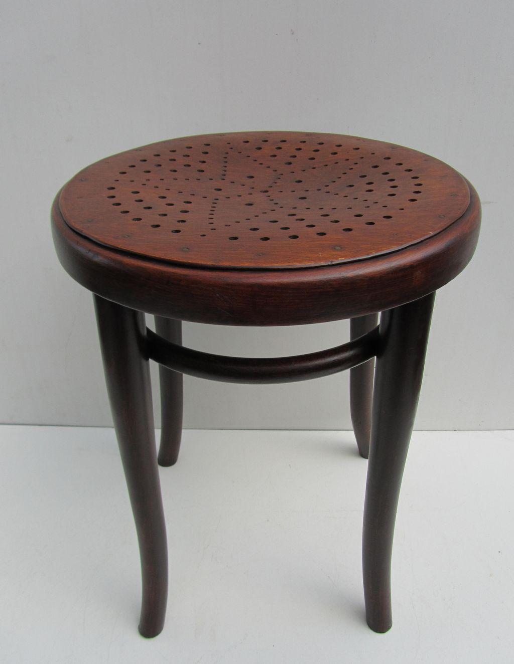 Hocker Vintage Original Thonet Hocker Stool