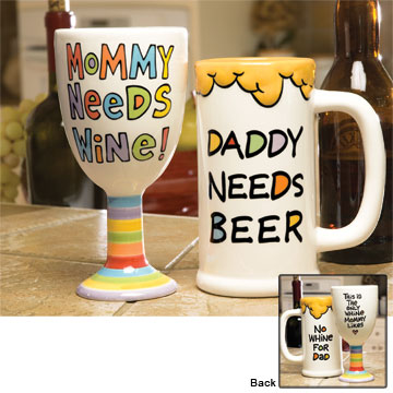 mommy wine daddy beer
