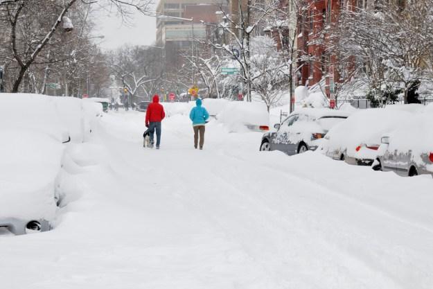 Washington, DC - Snow Blizzard of 2010