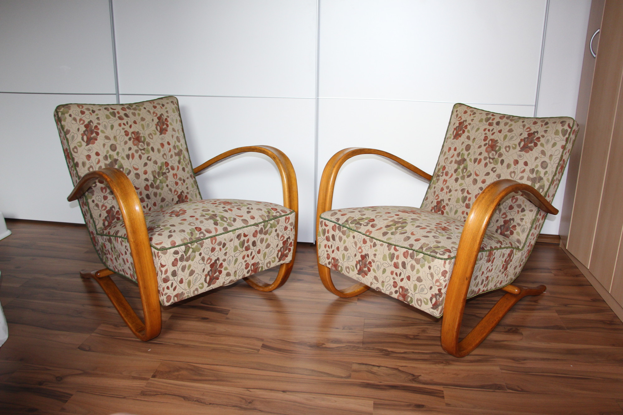 Design Sessel Retro Look 2 Halabala Sessel H269 Halabalas Armchairs Antik Zone At