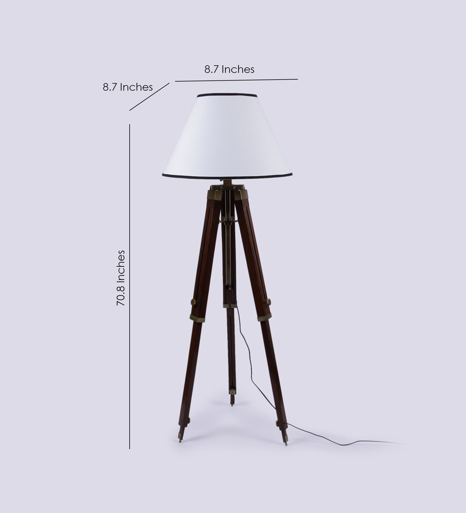 Tripod Floor Lamps Sale White Wooden Base Tripod Floor Lamp Antikcart
