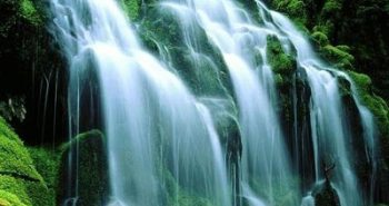 beauty of waterfalls