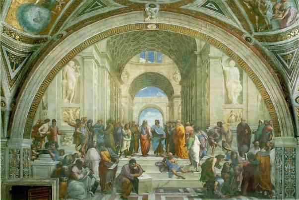 η σχολή των ΑΘηνών -Raphael, 1510-1511