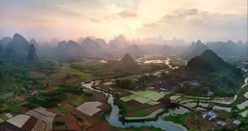 Πανέμορφο τοπίο στην Κίνα