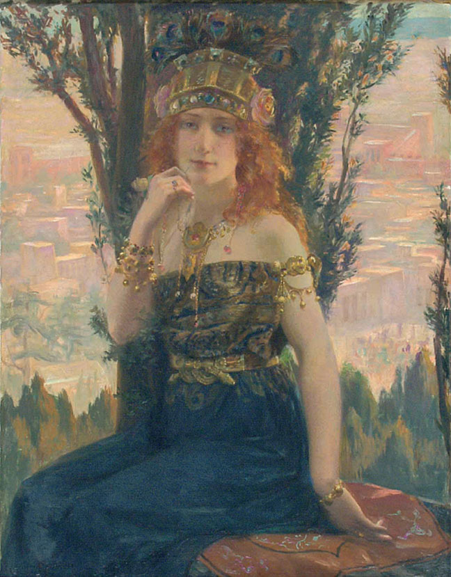 Gaston Bussiere (1862-1929) Helen of Troy