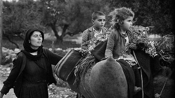 Επιστροφή από τους αγρούς, Κριτσά, Κρήτη, δεκαετία 1960