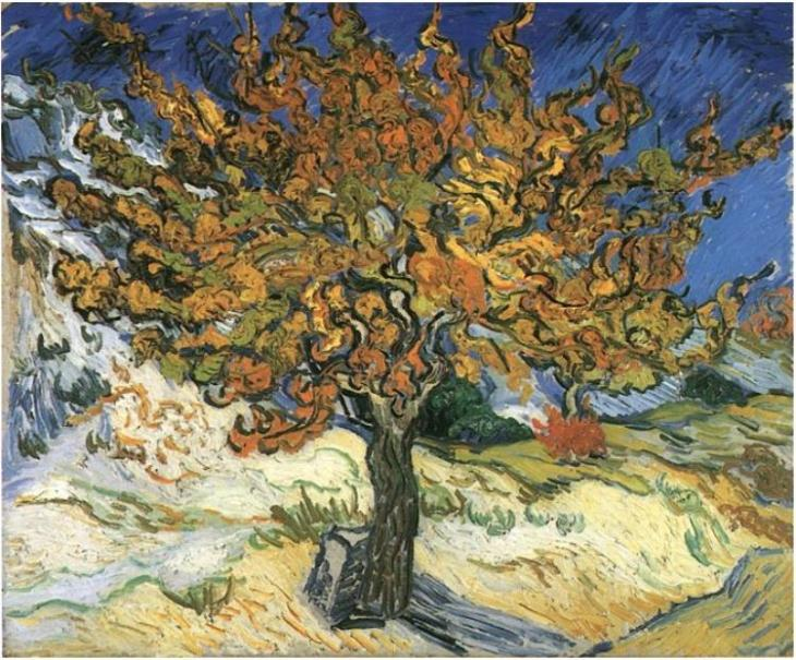 Vincent van Gogh. Mulberry Tree. October 1889.