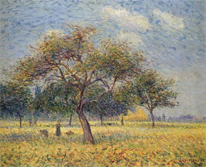 Μηλιές τον Οκτώβριο Gustave Loiseau 1898