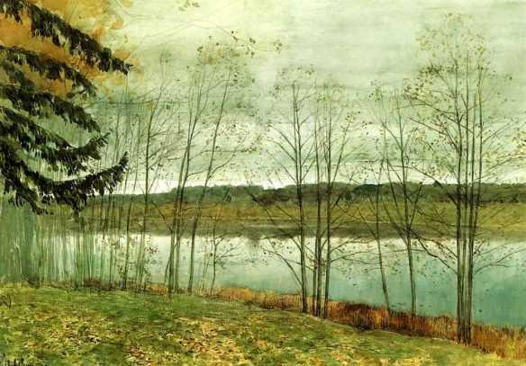 Isaac Ilich Levitan - circa 1891-1899
