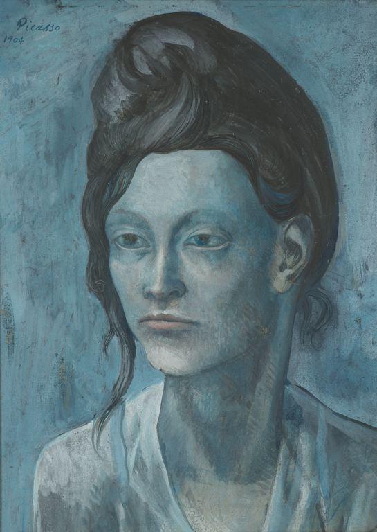 Γυναίκα με ένα είδος κόμμωσης των μαλλιών της 1904