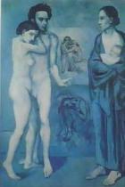 """Οι """"μπλε πίνακες"""" του Πικάσο"""