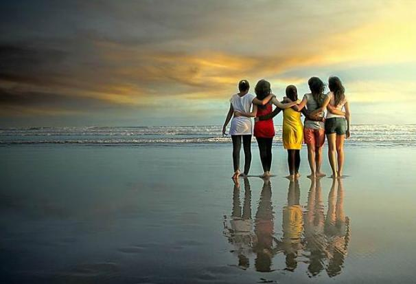 friends-sea