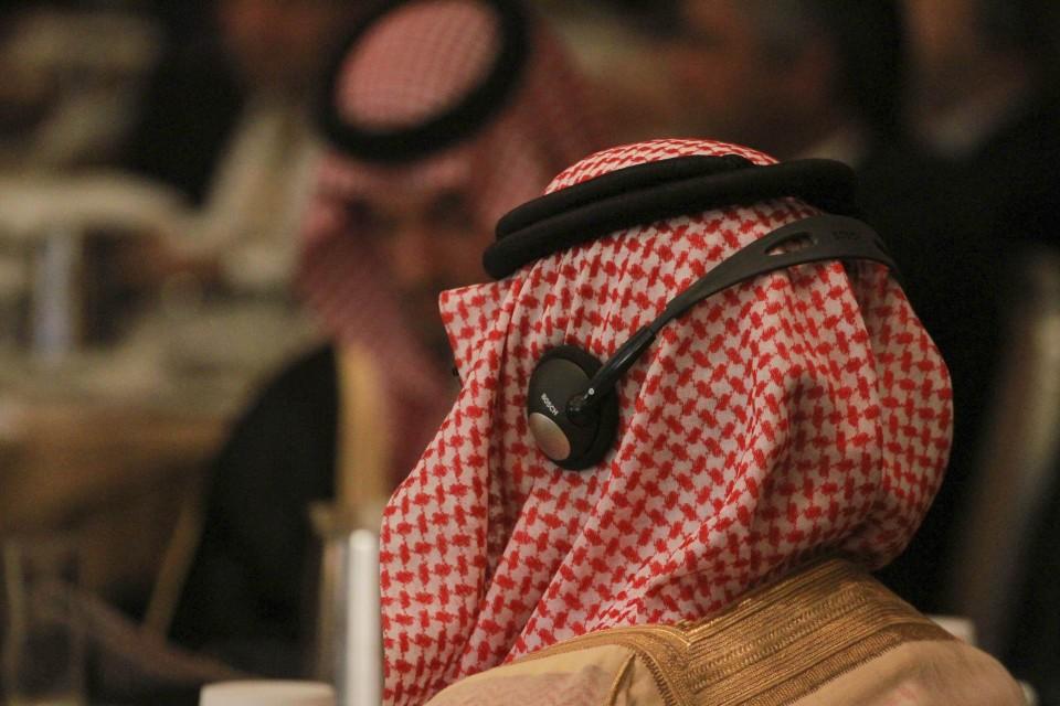 Φωτογραφία από το συνέδριο του Economist «Η Ευρώπη και ο Αραβικός Κόσμος: Ενίσχυση των πολιτικών, επιχειρηματικών και επενδυτικών δεσμών» στο ξενοδοχείο Athenaeum Intercontinental.