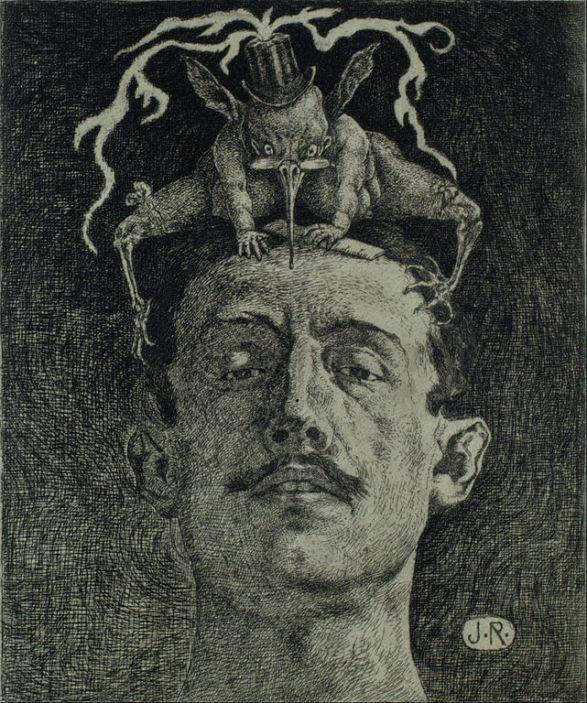Κριτική - Julio Ruelas 1907 (χαλκογραφία)