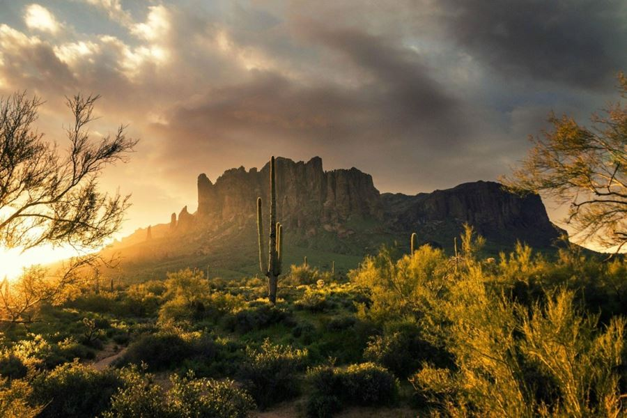 Superstition Mountains, Arizona, ΗΠΑ