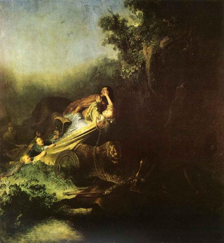 Η αρπαγή της Περσεφόνη-  Ρέμπραντ 1631