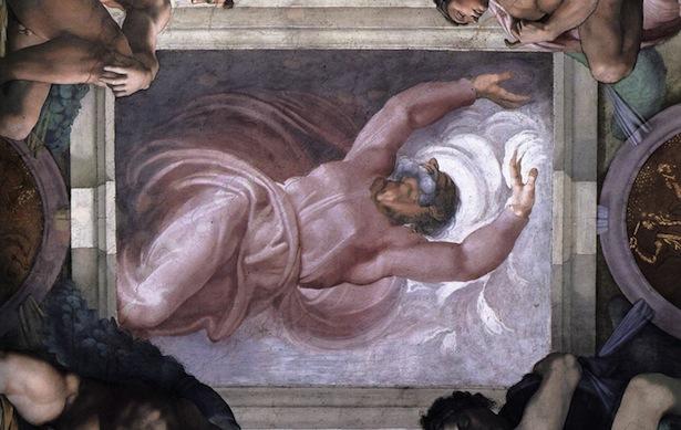 Μιχαήλ Άγγελος, ο διαχωρισµός του φωτός από την άβυσσο