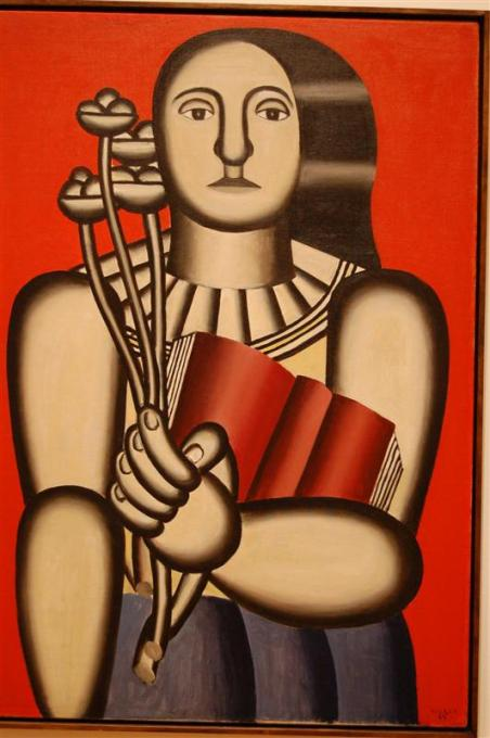 Γυναίκα με βιβλίο -Fernand Leger 1923