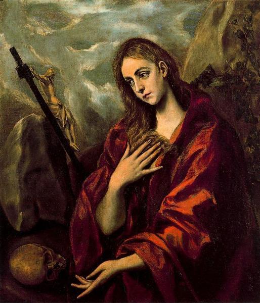 Μετανοούσα Μαγδαληνή - 1590