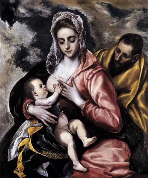 Η Αγία Οικογένεια 1585