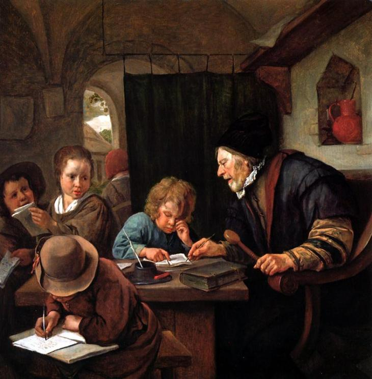 Ο δάσκαλος - Jan Steen 1668