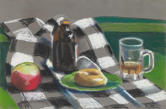 Μήλα, ψωμί και μπύρα -Louisa Matthiasdottir 1940