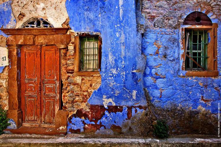 Χίος: Χρώμα με μνήμες στη Βέσσα, στα Νοτιόχωρα της Χίου