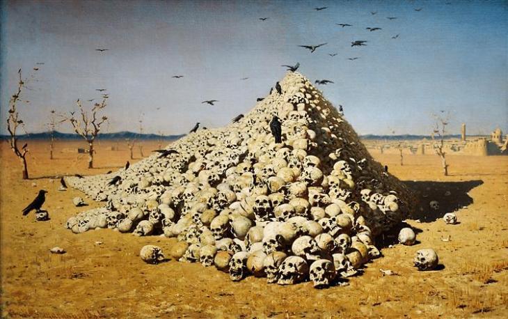 Η αποθέωση του πολέμου -Vasily Vereshchagin 1871