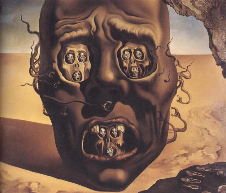 Το Πρόσωπο του Πολέμου -Salvador Dali 1941
