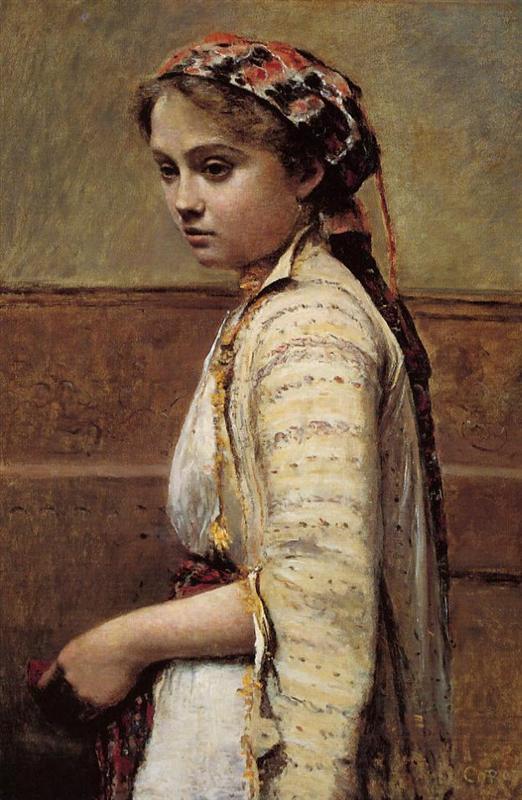 Ελληνίδα κόρη - Camille Corot 1870