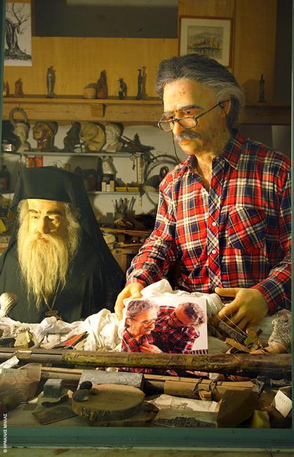 Μουσείο Ελληνικής Ιστορίας - Κέρινα ομοιόματα, Ιωάννινα: Φόρος τιμής στους ανώνυμους και επώνυμους ήρωες Ιωαννίτες το μουσείο του Παύλου Βρέλλη, του υπερδραστήριου καλλιτέχνη που αποτελεί σημείο αναφοράς για τη γενέτειρά του. * 12ο χλμ. Εθνικής οδού Ιωαννίνων - Αθηνών, Μπιζάνι Ιωαννίνων, Τηλ 26510 92128, www.vrellis.gr