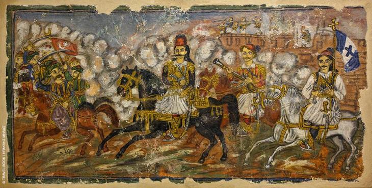 Εργα του Θεόφιλου, Μαγνησία: Για περισσότερα από 30 χρόνια ο αυτοδίδακτος λαϊκός ζωγράφος Θεόφιλος Χατζημιχαήλ, έζησε στον Βόλο και το Πήλιο, ανταλλάσσοντας τις περίφημες ζωγραφιές του με ένα πιάτο φαγητό. Σε σπίτια, αρχοντικά, καφενεία, οι τοίχοι γέμισαν με τα υπέροχα χρώματα του «αλαφροΐσκιωτου» Μυτιληνιού, με αρχαίους θεούς και ήρωες, αγωνιστές της Επανάσταση και γοργόνες. Αν βρεθείτε στον Βόλο θα δείτε έργα του Θεόφιλου στο Λαογραφικό Κέντρο Κίτσου Μακρή, αλλά και στο Μουσείο Θεόφιλου στην Ανακασιά, στο αρχοντικό του Γιάννη Κοντού.