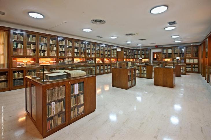 Νικολοπούλειος Βιβλιοθήκη, Ανδρίτσαινα: Μια από τις σημαντικότερες βιβλιοθήκες της χώρας αφιερωμένη στον δωρητή της, Αγαθόφρων Νικολόπουλο με 4.000 ελληνικούς και ξένους τίτλους, ιστορικά χειρόγραφα, βιβλία μεγάλων συγγραφέων της εποχής και αρχαίων κλασσικών από τις απαρχές της παγκόσμιας τυπογραφίας. Συνολικά, η υπερσύγχρονη βιβλιοθήκη της Ανδρίτσαινας μετράει γύρω στους 40.000 σημαντικούς τίτλους. *26260 22242
