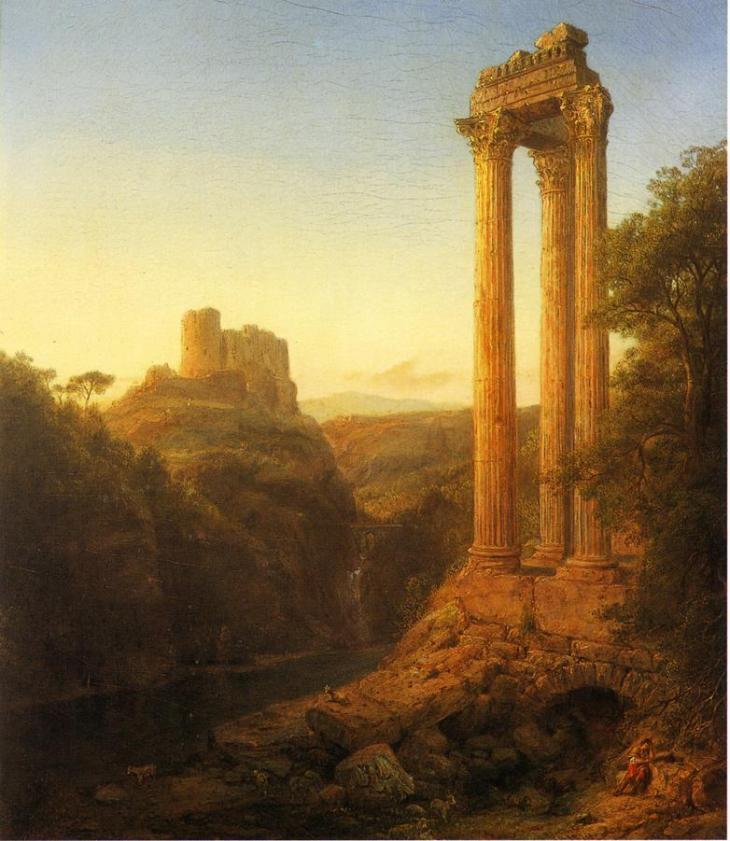 ηλιοβασίλεμα στη Συρία - Frederic Edwin Church - 1874