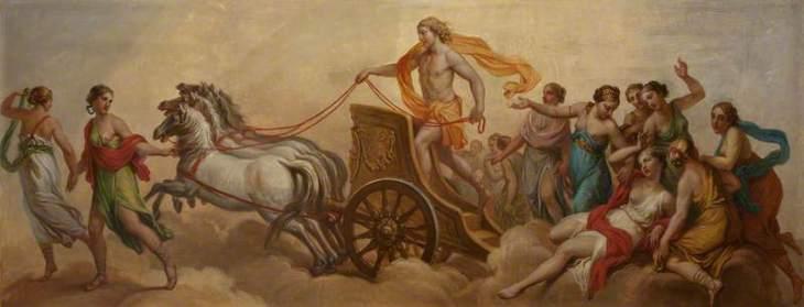 Οι Τέσσερις Εποχές. Φθινόπωρο - Θρίαμβος του Σελινούντα, Βάκχου και Αριάδνης