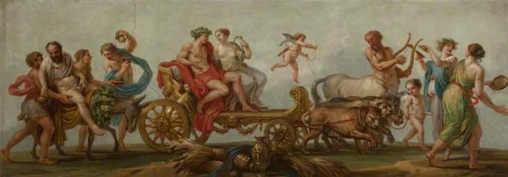 Οι Τέσσερις Εποχές. Καλοκαίρι - Θρίαμβος του Απόλλωνα