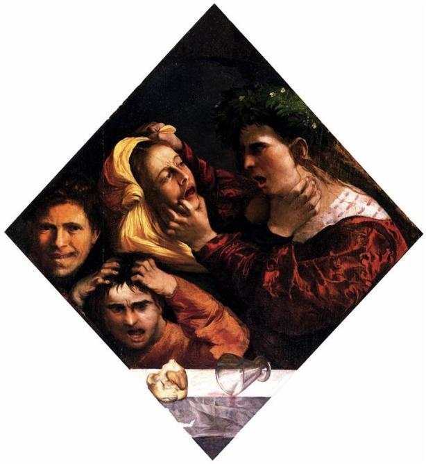 Ο θυμός ή η συμπλοκή - Dosso Dossi 1516