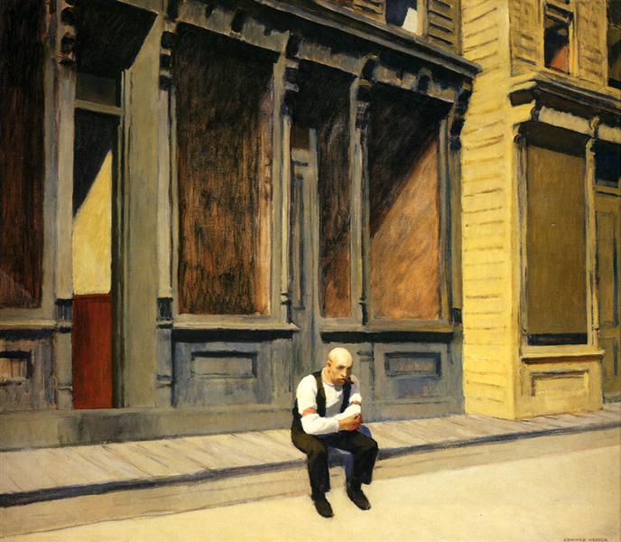 Κυριακή - Edward Hopper 1926