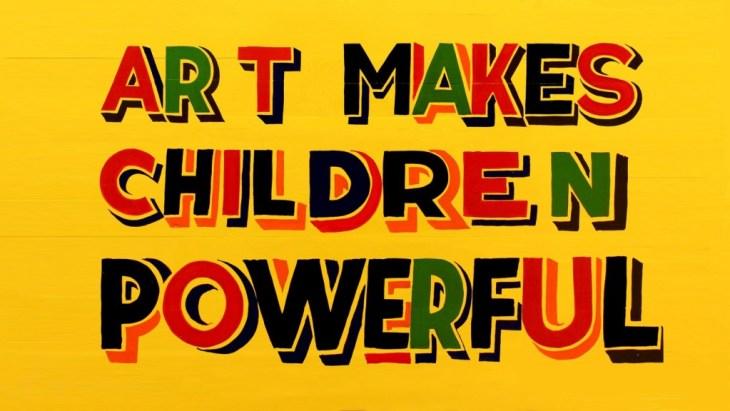 Έργο του καλλιτέχνη Bob and Roberta Smith (via S Edition)