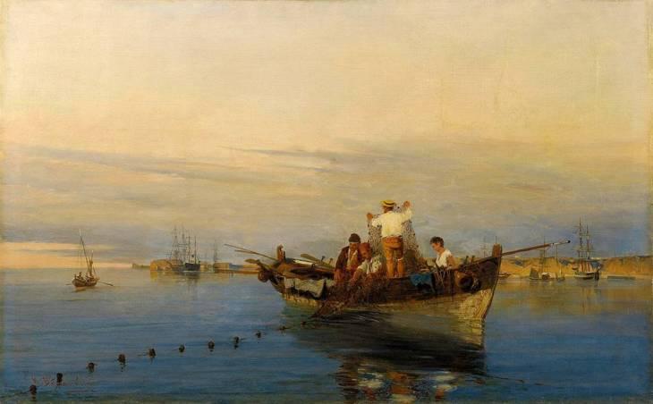 Ρίχνοντας τα δίχτυα - Κωνσταντίνος Βολανάκης