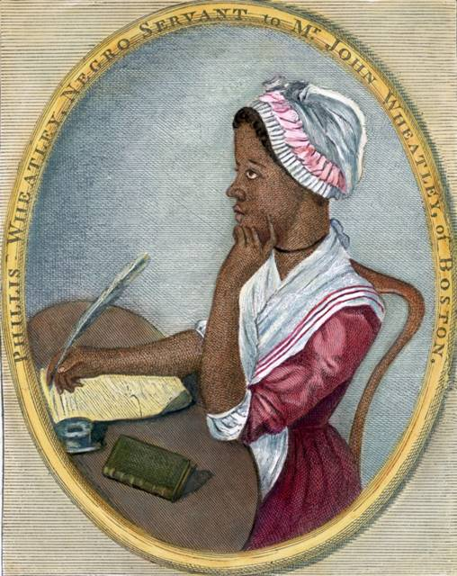 Phillis Wheatley,