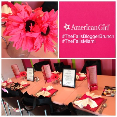 Lunching At American Girl Bistro at The Falls Miami