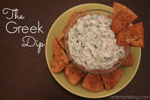 The Greek Dip Recipe – Chobani #DeliciousBowl