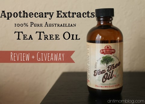 Apothecary Extracts 100% Pure Australian Tea Tree Oil